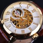 Armbanduhr Gold Skeleton - Weiss/Golden