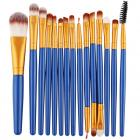 Make-up-Pinsel Lola - Blau/Golden