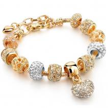 Armband Eternal - Golden/Silber 4
