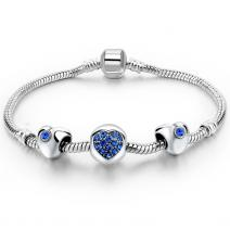 Armband Eternal Simple -  Blau
