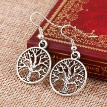 Ohrringe Tree Of Life - Silber
