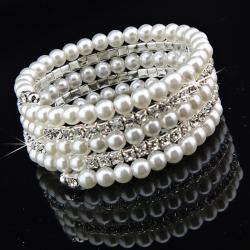Armband Pearl Crystal-Luxury