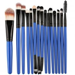 Make-up-Pinsel Lola - Blau/Schwarz
