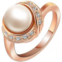 Ring Bridal Pearl - Golden/55mm
