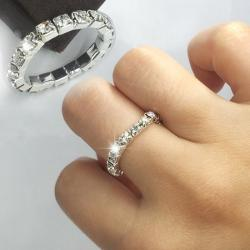 Ring Elastic Crystal
