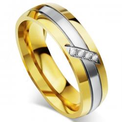 Ring Fidelity - Golden/59mm