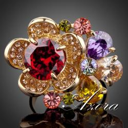 Ring Flower AZORA - Multi