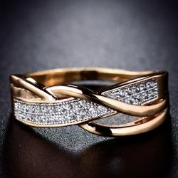 Ring Karmen DELICATE - Golden/52mm