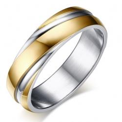 Ring Twist - Golden/57mm