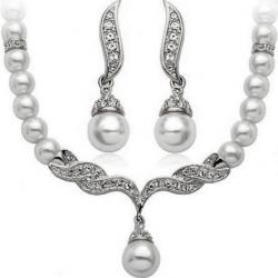 Set Mildness Pearl-Silber