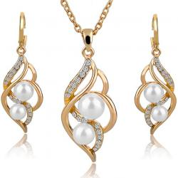Set Pearl Liana - Golden