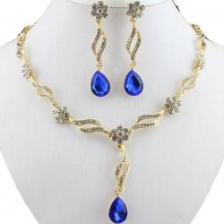 Set Tinsel-Golden/Blau